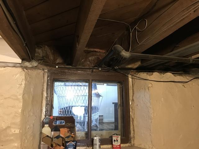Adding Spray Foam to Rim Joists of a  Home in Winneconne, WI