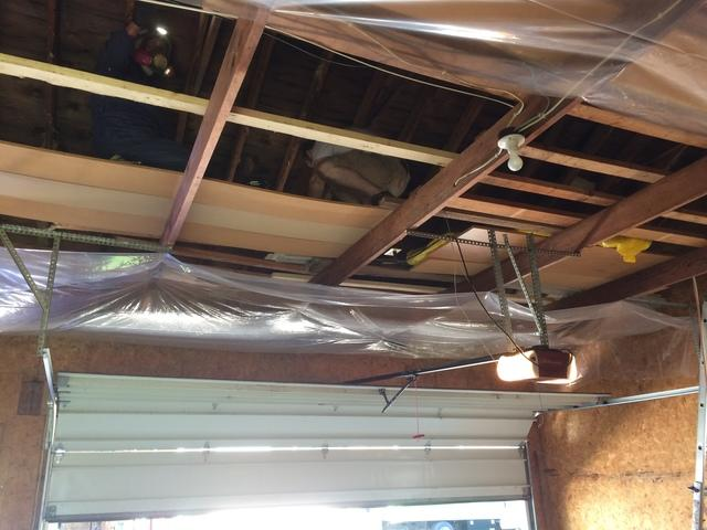 Insulating a Garage Attic in Appleton, WI