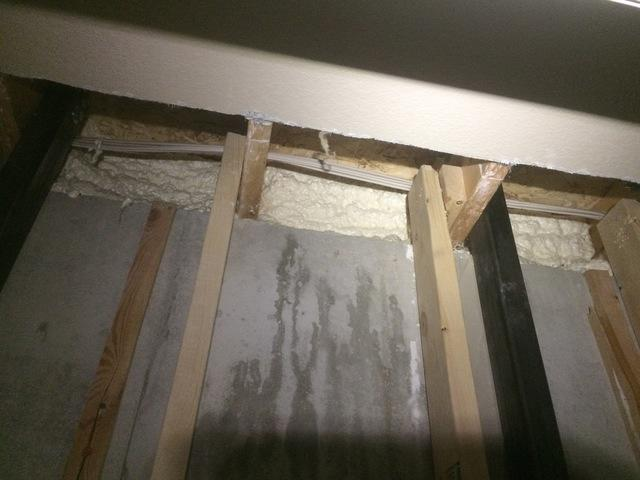 Insulating Rim Joists with Spray Foam in Fond du Lac, WI