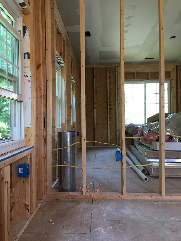 New Construction Spray Foam-Herndon, VA - Before Photo