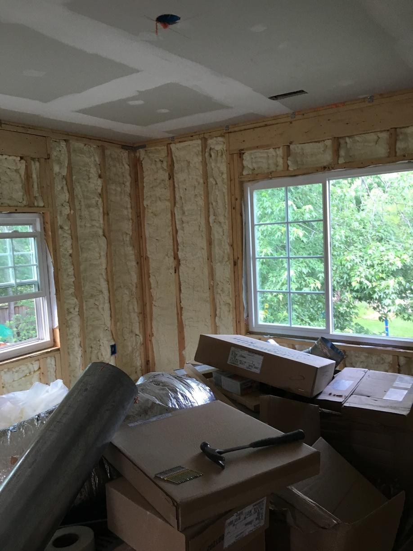 New Construction Spray Foam-Herndon, VA - After Photo