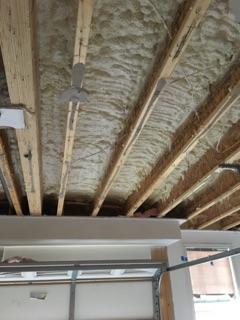 Spray Foam Garage Ceiling-Ashburn, VA - After Photo