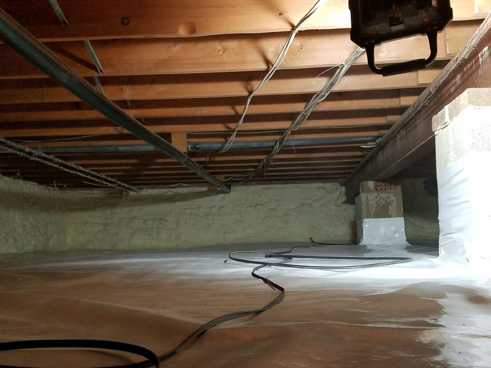 Crawl Space Encapsulation-Culpeper, VA - After Photo