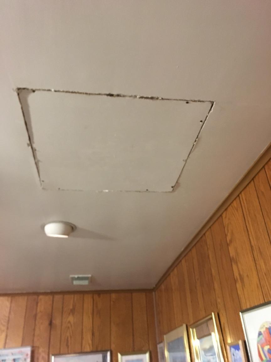 Attic Access Installation in Sterling, VA - Before Photo