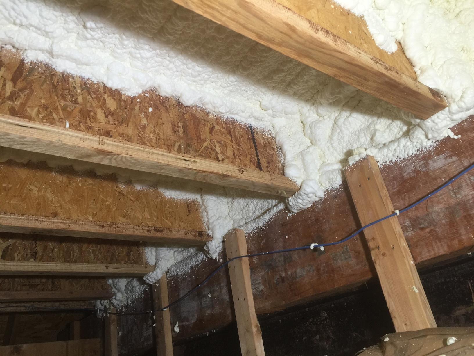 Garage Insulation in Sterling VA - After Photo