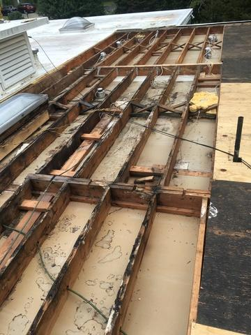Flat roof insulation-Catharpin, VA