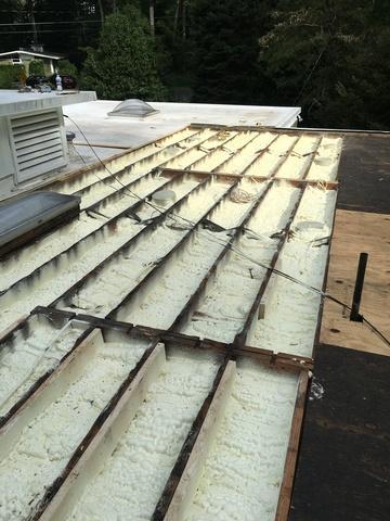 Flat roof insulation-Catharpin, VA