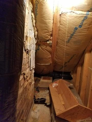 Knee-Wall Spray Foam-Alexandria, VA