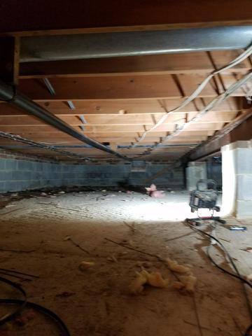 Crawl Space Encapsulation-Culpeper, VA