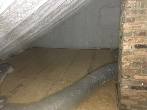 Spray Foam in Attic-Fairfax Station, VA