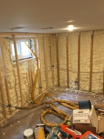 Basement Spray Foam-Cross Junction, VA