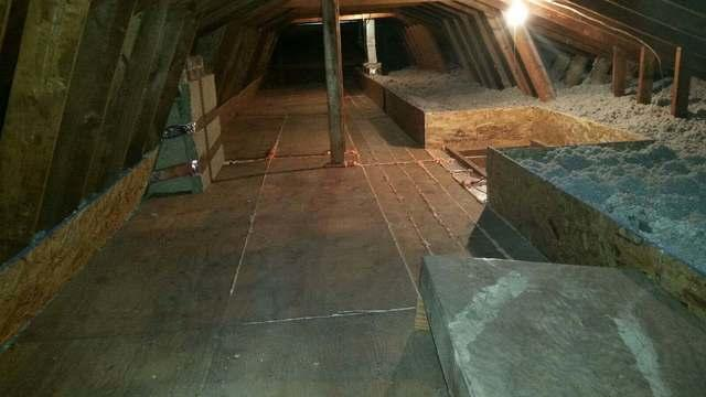 Attic Insulation in Mclean, Va - After Photo