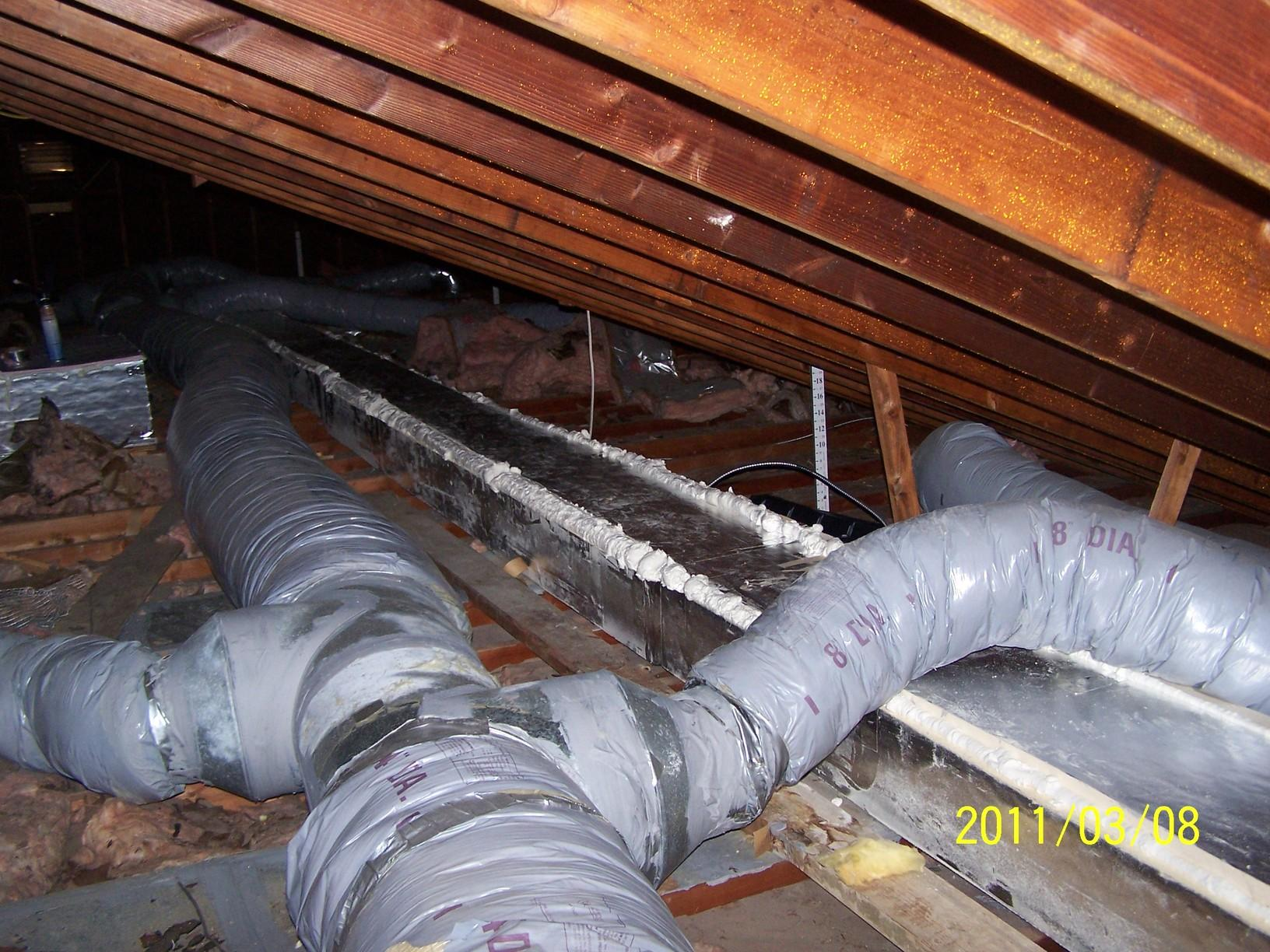 Duct Encapsulation at First Assembly of God in Shrewsbury, NJ - After Photo