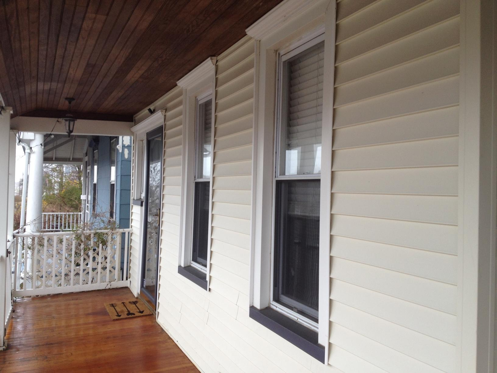 Exterior Wall Dense Pack in Ocean Grove, NJ - After Photo