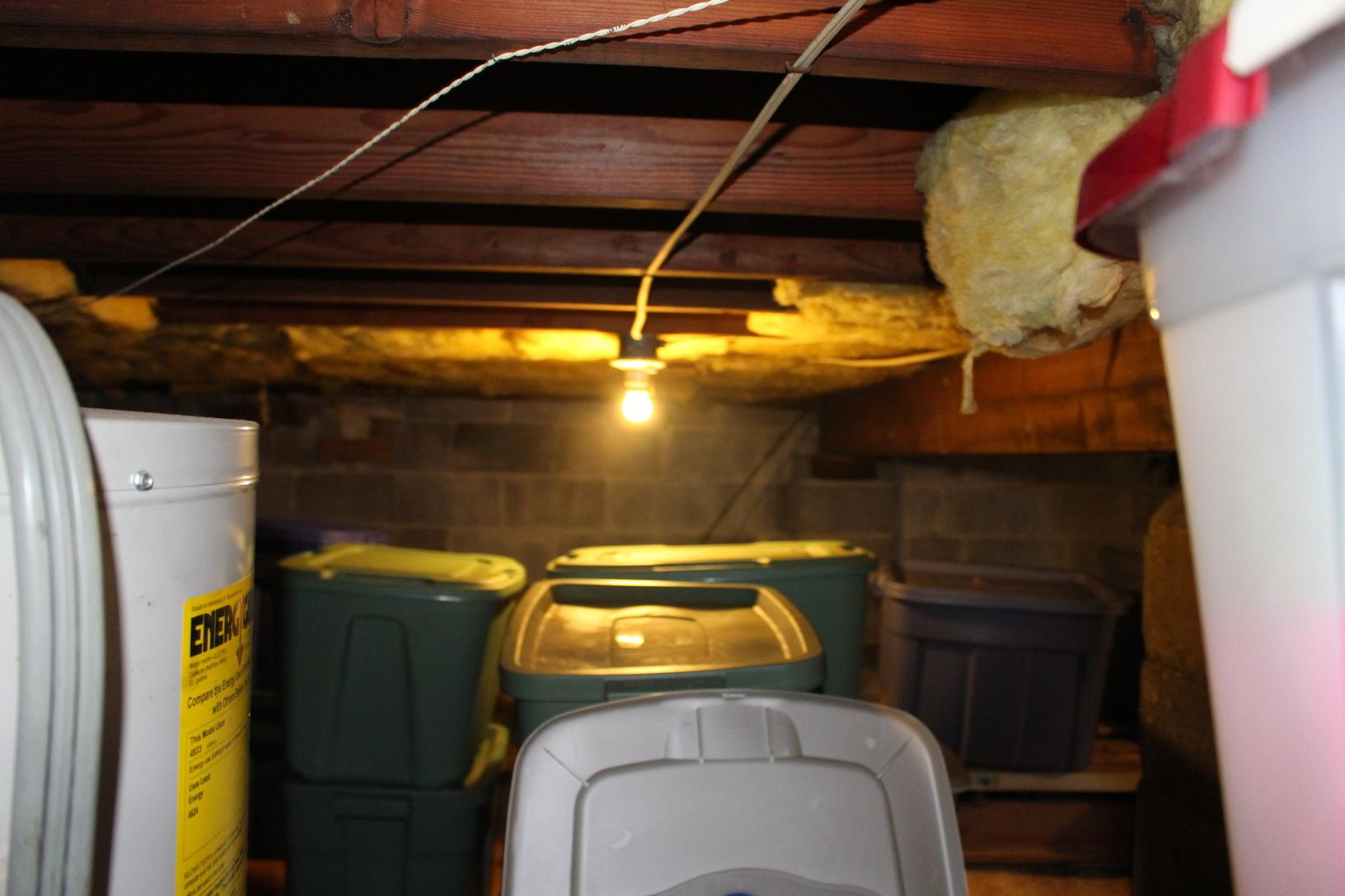 Crawl Before and After in Toms River, NJ - Before Photo