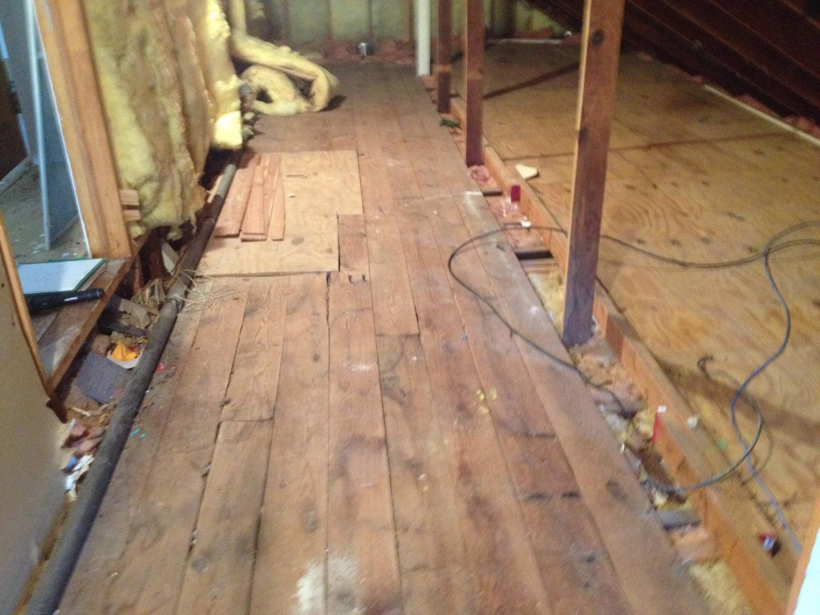 Under Insulated & Air Leakage in Island Heights, NJ - Before Photo