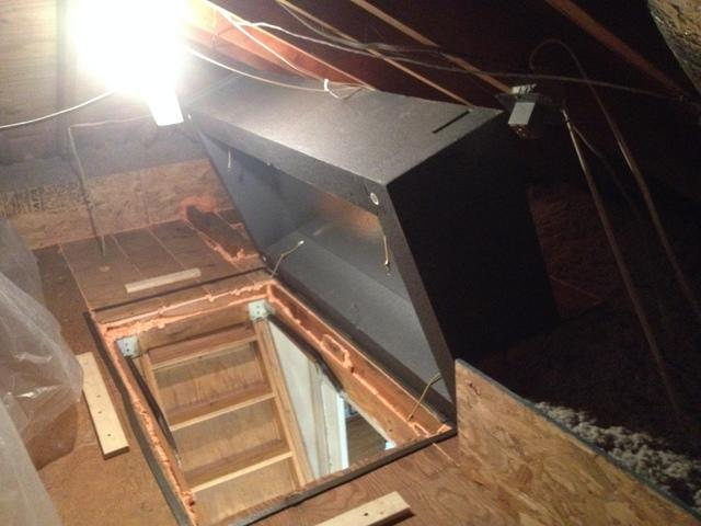 Attic Pull Down Stair Cover in Toms River, NJ