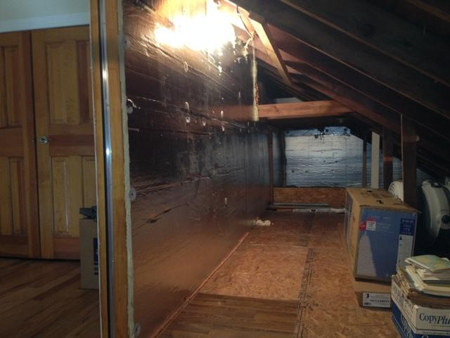 Attic Insulation in Island Heights, NJ - After Photo