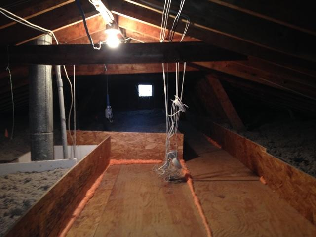 Attic Insulation Install in Toms River, NJ
