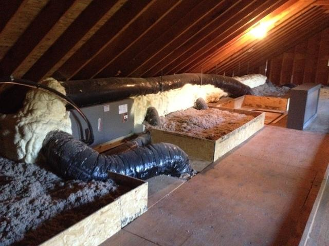 Attic Duct Systems in Toms River, NJ - After Photo