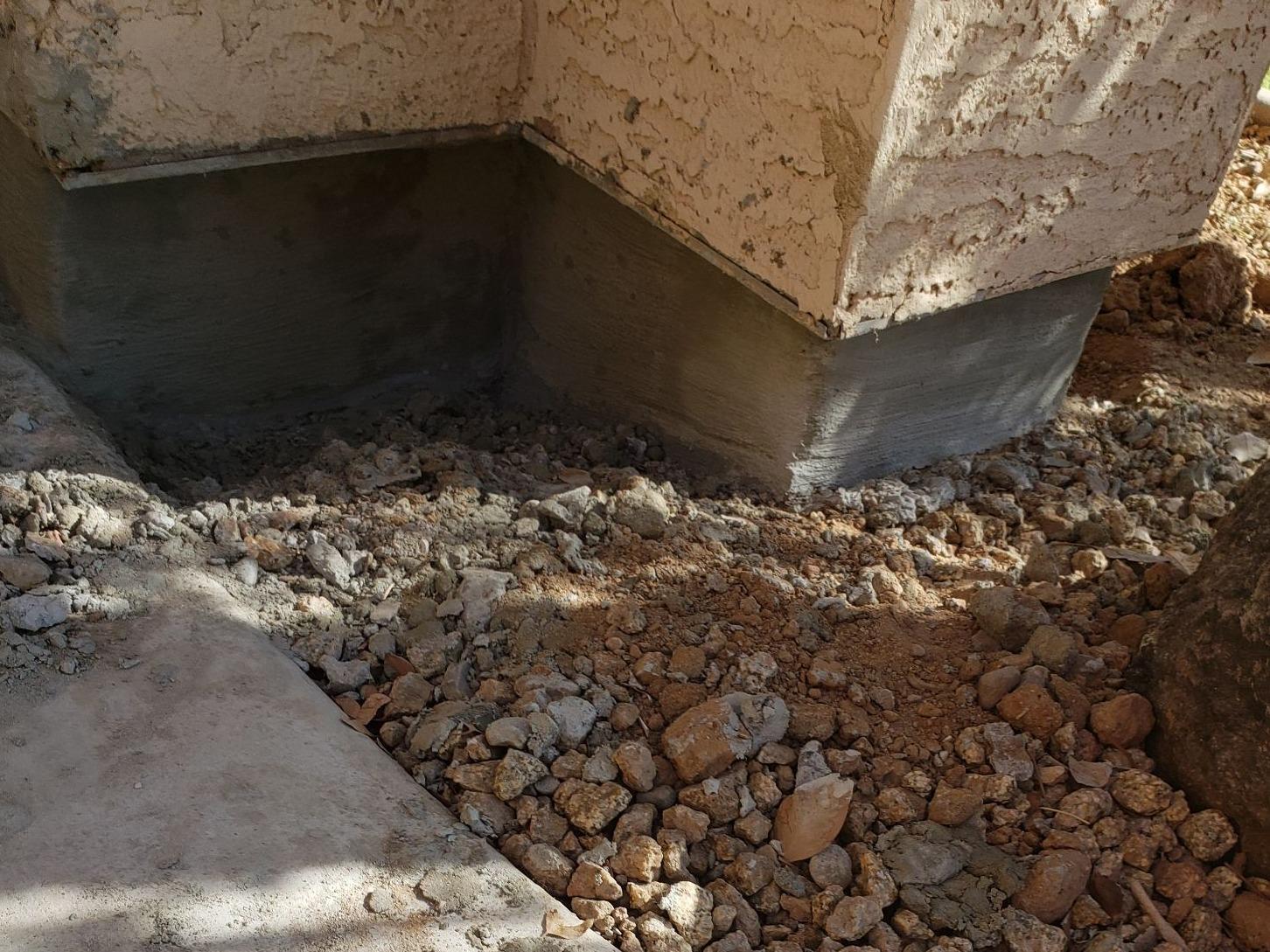 Concrete Stem Wall Repair - Chandler, AZ - After Photo