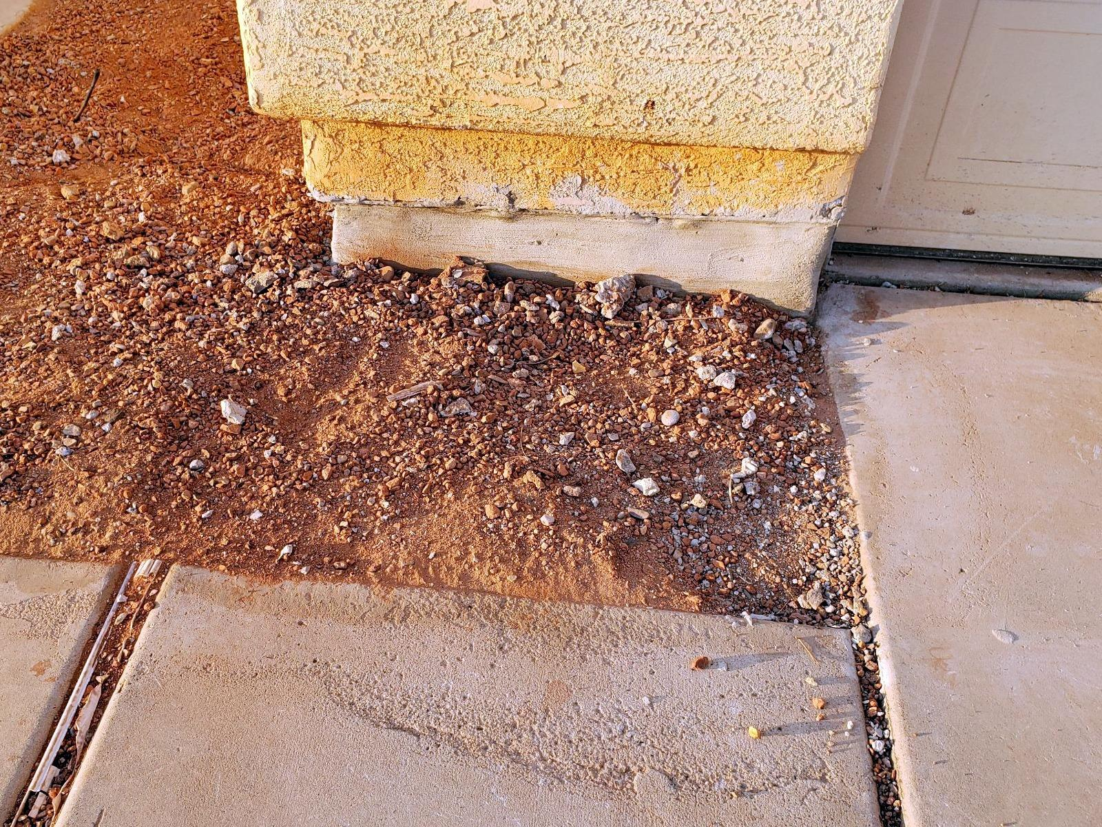 Concrete Stem Wall Repair - Glendale, AZ - After Photo