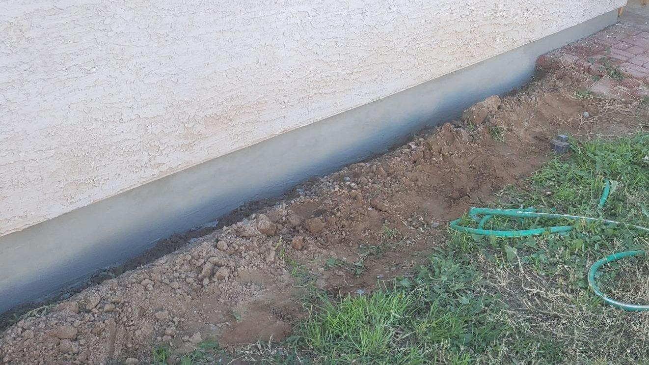 Concrete Stem Wall Repair - Buckeye, AZ - After Photo