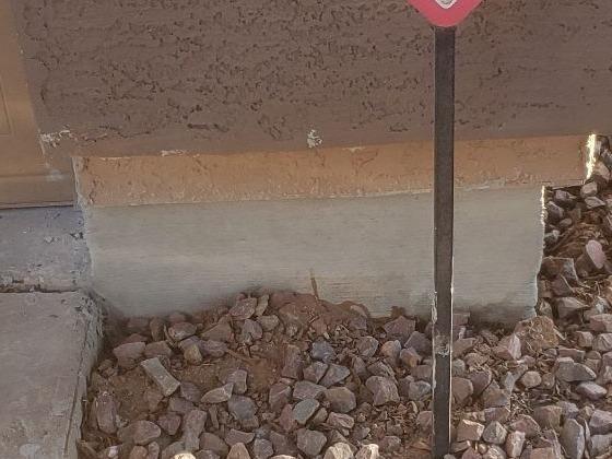 Concrete Stem Wall Repair - Gilbert, AZ 1.21.2021 - After Photo