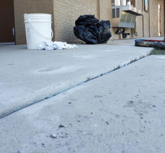 PolyLevel® Repair in Chandler, Arizona - Before Photo