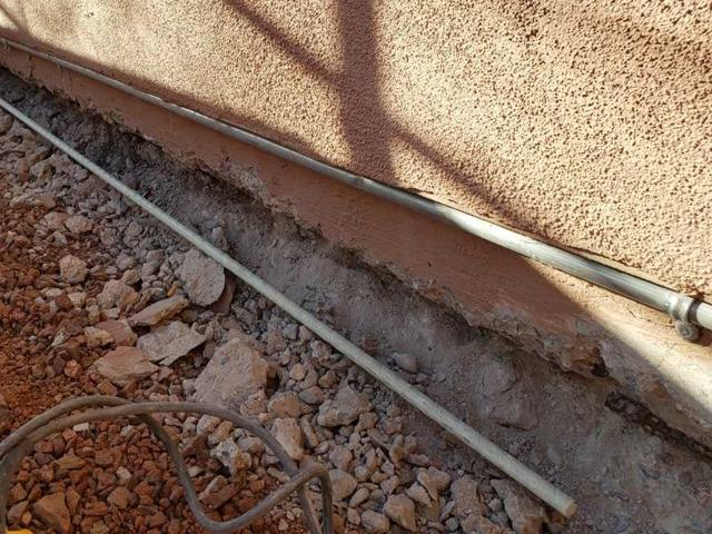 Apache Junction Stem Wall Repair
