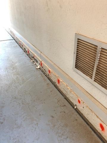Concrete Stem Wall Repair - Mesa, AZ
