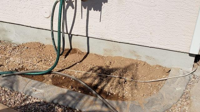 Concrete Stem Wall Repair - Chandler Heights, AZ