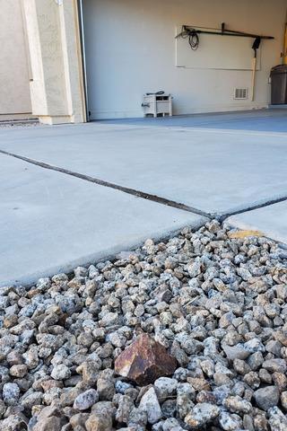 Concrete Lifting - Gilbert, AZ - Before Photo