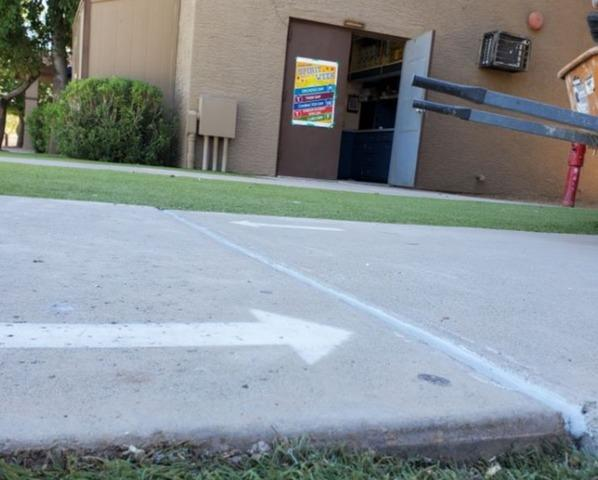 Chandler Concrete Repair: PolyLevel® Injection - After Photo