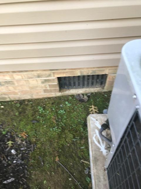 CleanSpace Vent Covers installed in Georgetown, KY - Before Photo