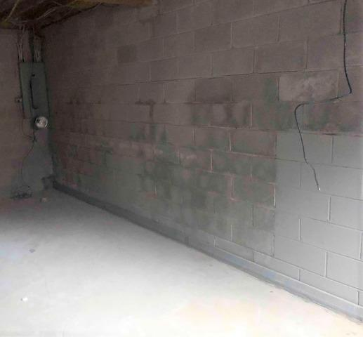 PowerBrace System  used to support a bowing wall in Lexington, KY.