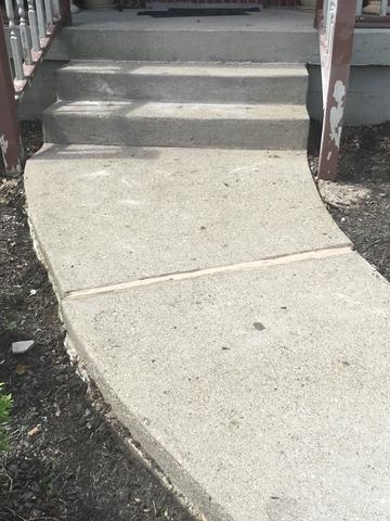 PolyLevel Injection System and NexusPro Joint Sealant is used to repair a sidewalk in Carrollton, Kentucky.