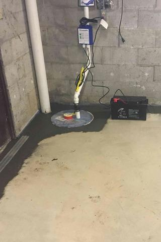 Sump Pump Replacement Successful in Winchester, Kentucky