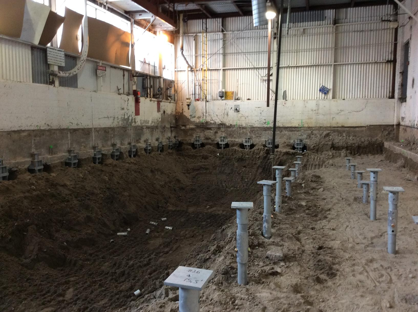 Helical Pier and Tieback System in Nyssa, Oregon - After Photo