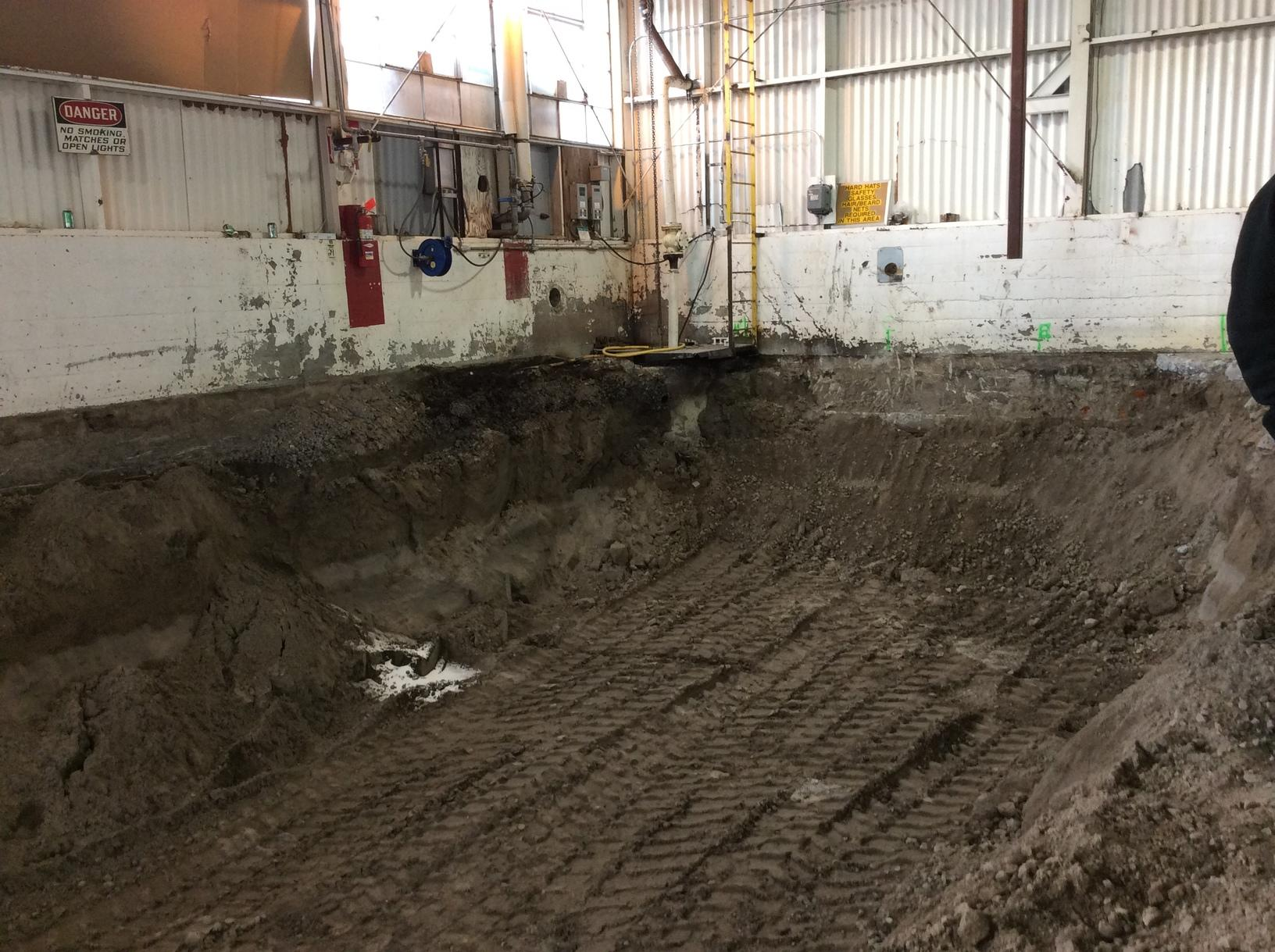 Helical Pier and Tieback System in Nyssa, Oregon - Before Photo