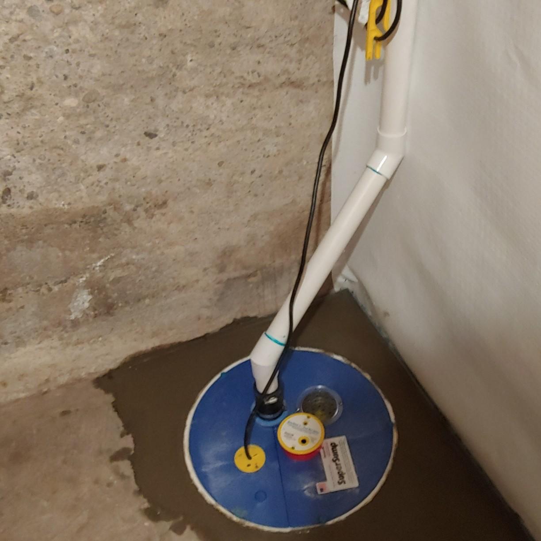 Crawlspace Waterproofing in Rexburg, Idaho - After Photo