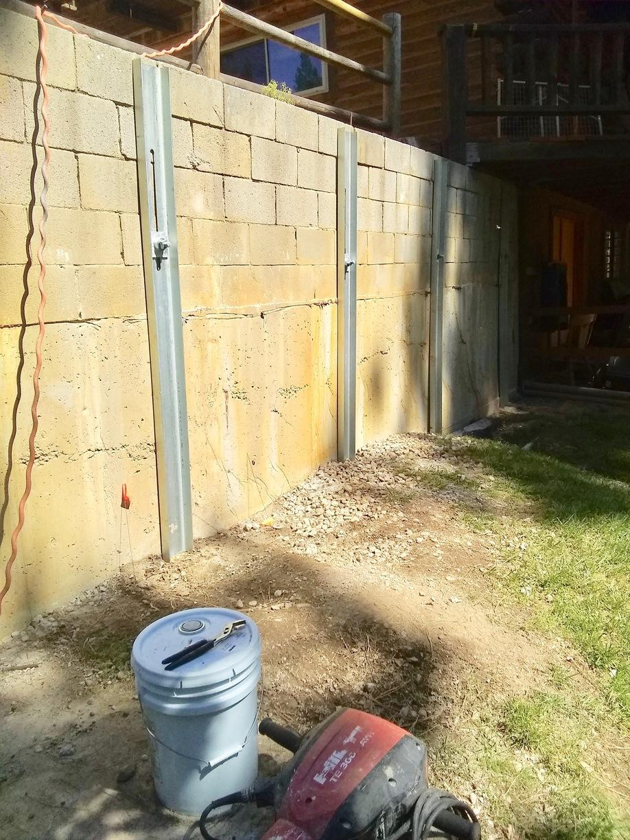 Wall Support in Garden Valley, ID - After Photo