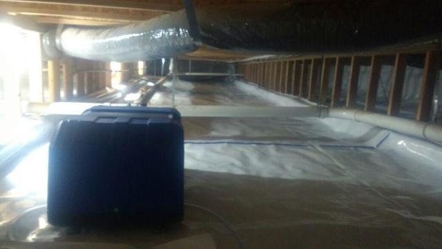 Dehumidifier and Crawl Space Encapsulation in Jerome, Idaho