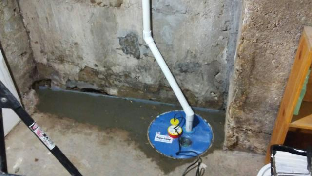 Basement Waterproofing in Pocatello, ID - After Photo