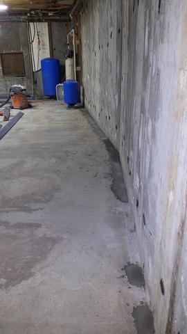 Water Leaking Down Basement Walls in Hailey, ID