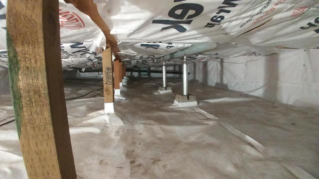 Crawlspace Encapsulation and SmartJacks in McCall, ID