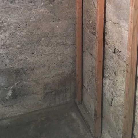Crawlspace Waterproofing in Rexburg, Idaho - Before Photo