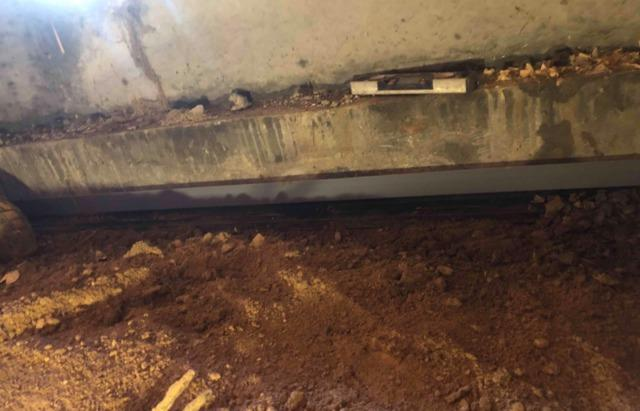 Permanent Solution to a Wet Crawlspace