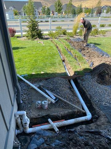 Water drainage disappearing act in Boise, Idaho!