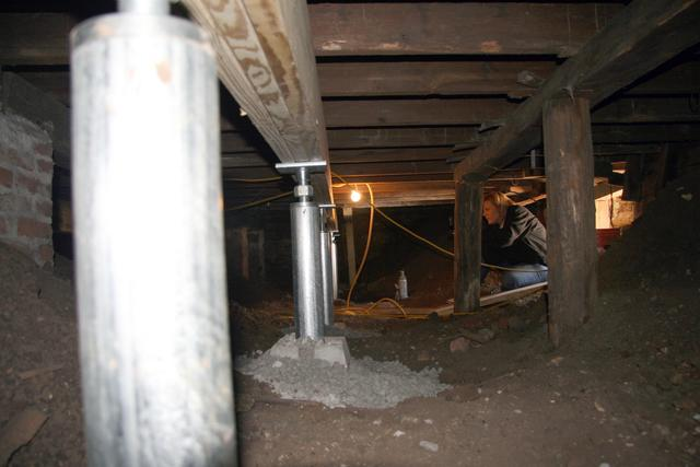 Crawlspace Repaired with SmartJacks in Middleton Idaho